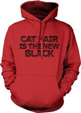Cat Hair Is The New Black Orange Shed Fur Hot Thing Next Owner Hoodie Sweatshirt