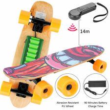 20km/h Elektro Skateboard Longboard E-Scooter Elektrisches Fernbedienung 350W DE
