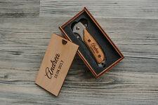 Groomsmen Knife Personalized Pocket Knife Folding Knife Engraved Knife Gift Box