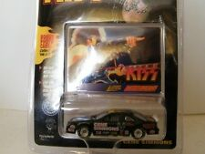 1998 Johnny Lightning 1:64 KISS Gene Simmons Die Cast Metal Car w/Photo Card #8