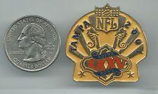 NFL Super Bowl XXXV Tampa 2001 Pin Rarely on eBay! Ravens v Giants OOP Wincraft