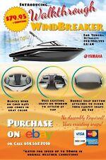 Walkthrough WindBreaker for Yamaha Jet Boats 190,192,195 SX/AR