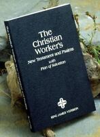 The Christian Worker's New Testament & Psalms: King James Version: By Zonderv...