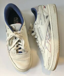 REEBOK White Leather Alter The Icons Concept Sample 002 Sneakers - Size 6