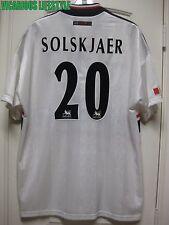 SOLSKJAER #20 Manchester United 1997/1999 Away Short-Sleeves Shirt Jersey XL