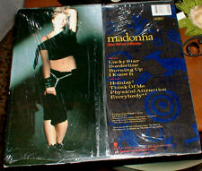 """MADONNA FIRST ALBUM SELF TITLED LP MADE IN ITALY 12"""" VINYL EVERYBODY BURNING UP"""