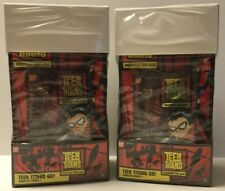 Lot Of 2 Teen Titans Go Series 1 Collectible Card Game Sealed Box - Ccg