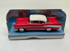MATCHBOX-THE DINKY COLLECTION-DY-2 1957-CHEVROLET BEL AIR -1989-IN BOX-RED-