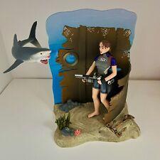Tomb Raider Lara Croft Deep Sea Figure Diorama vs Shark Playmates 1999
