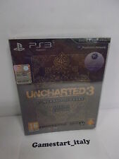 Uncharted 3 L'inganno di Drake Special Edition PAL ITA Sony Playstation 3 Ps3
