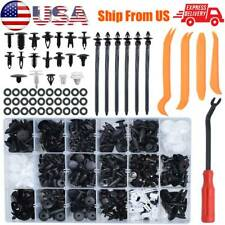435x Car Clips Auto Retainer Push Rivets Bumper Grille Fender Fastener Tools Kit
