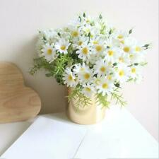 Cloth Multi Artificial Fake Silk Daisy Flower Bouquet Wedding Party Decor LP