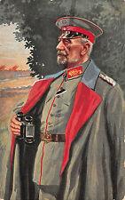 General von Gallwitz, bunte Postkarte 1916