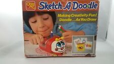Vintage Sketch A Doodle Bug Ohio Art 1987 Drawing Etch A Sketch HTF, Rare,unused