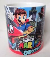 Super Mario Odyssey Nintendo Switch Themed Coffee MUG CUP - Gaming - Gifts