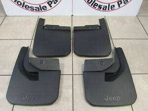 JEEP WRANGLER (JL) Molded Front And Rear Splash Guards NEW OEM MOPAR