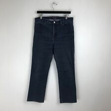 NYDJ Not Your Daughter's Jeans - Straight Fit Dark Tag Size: 12P (32x26.5) #6083