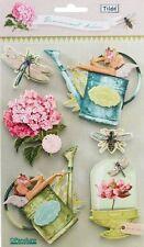 Tilda 3D Sticker Gardenparty mit Gartenmotiven 6 Stück #480261