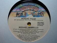 "Michael Sembello ""Maniac"" Classic Hit Oz 7"""