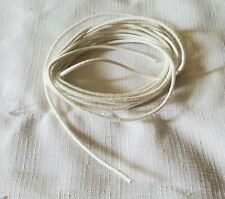 """Flexible 1/16"""" diameter Doll String/Cord for Stringing Doll Parts Fabric Covered"""