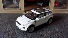 1:38 1/38 Diecast Landrover Range Rover Evoque White Model Car