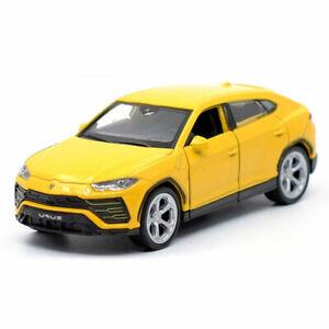 1:43 Lamborghini Urus SUV Model Car Diecast Gift Toy Vehicle Pull Back Yellow
