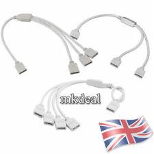 1 a 2/3/4 modo RGB Mujer Splitter Cable conector controlador LED tiras luces