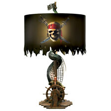 Pirates of the Caribbean Jack Sparrow Lamp Disney Bradford Exchange