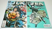 JLA 18 19 Comic LOT DC SIGNED Mark Waid Seven Soldiers Justice League of America