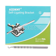 Dental Orthodontic Self Ligating Brackets Braces Mini Roth022 Hooks 345 Azdent