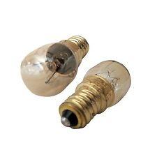 x2 for BAUKNECHT 25W E14 300deg Oven Cooker Heat Resistant Light Bulbs High Temp