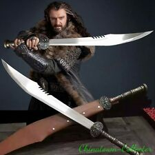 Lord of the Rings Hobbit Elven Orcrist Sword High manganese steel blade #0007