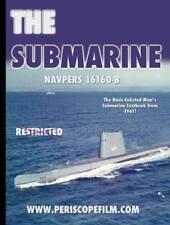 U.S. NAVY FLEET TYPE SUBMARINE GUPPY SUB INSTRUCTION BOOK