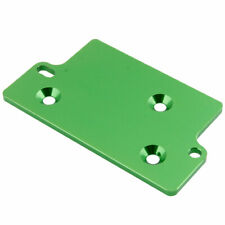 RC AX30485 Green Alum Servo Plate For Axial 1:10 SCX10 Jeep Wrangler 90028