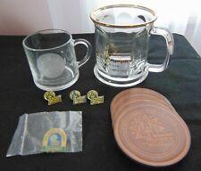 Special Olympics Memorabilia - Pins-Coasters-Glass Mugs