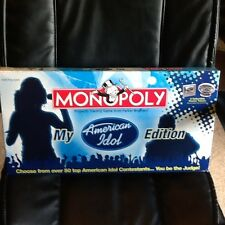 American Idol My Edition Monopoly NEW IN BOX