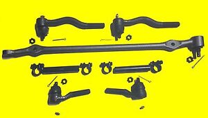 Front Steering Kit 7 Pcs 1965 1966 Ford Mustang 8 Cyl for Manual Steering Only