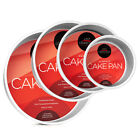 4-Piece Round Cake Pan Set Includes 6