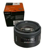 NEW SONY 50mm F1.4 Lens for Alpha A Mount (SAL50F14)