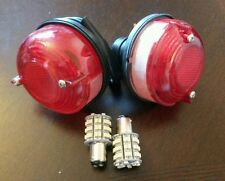 Land Rover Series 1 2 2a Sparto Repro Rear Brake Tail Light LED bulbs x2 589446
