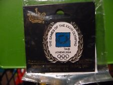 NEW OLYMPIC PIN ATHENS 2004 OFFICIAL LICENSED PRODUCT