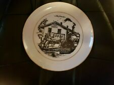 Lester O. Schwartz / Wisconsin Central Marshfield Collectors Plate 1981 One.