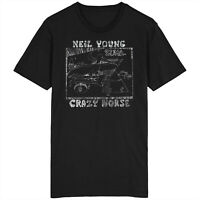 Neil Young And Crazy Horse Zuma T Shirt Top Reprise Records Cortez The Killer