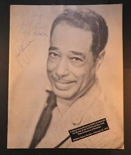 1970 Duke Ellington Concert Program signed by Eubie Blake Noble Sissle Bb King