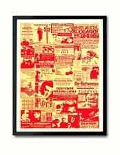 Indie Pop C86 Collage Art Print (Smiths Field Mice Felt Orchids June Brides etc)
