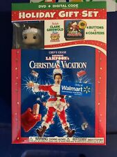 Christmas Vacation Holiday Gift Set - Clark Griswold Figurine Funko Pop Keychain