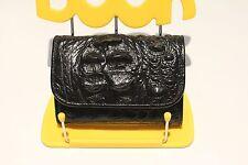 Authentic Crocodile Black Leather Women's Wallet