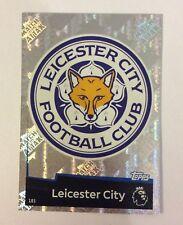 Brand New Match Attax 18-19 Leicester City Badge Card