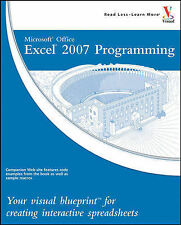 Microsoft Office Excel 2007 Programming: Your Visual Blueprint for Creating...