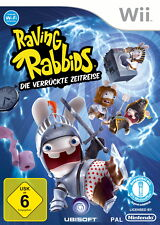 Raving Rabbids: Die verrückte Zeitreise (Nintendo Wii, 2010, DVD-Box)